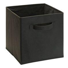 13 charcoal...ClosetMaid Cubeicals Fabric Drawer - Walmart.com