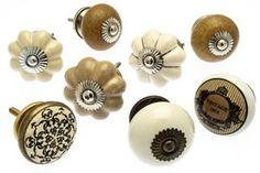Classic & Vintage Ceramic Knobs – Ideal for Doors, Drawers, Wardrobes Ceramic Door Knobs, Cupboard Knobs, Blue Pottery, Vintage Ceramic, Wardrobes, Drawers, Houses, Ceramics, Doors
