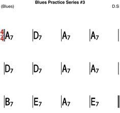 [Blues Practice Series 23] Blues #3 (50s Medium Shuffle Tempo 80 - Sheet Music Jazz Standard, Kind Of Blue, Backing Tracks, Rhythm And Blues, Bass, Sheet Music, Guitar, Medium, Lowes