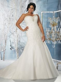 Wedding Dresses, Bridesmaid Dresses, Prom Dresses and Bridal Dresses Mori Lee Julietta Wedding Dresses - Style 3141 - Mori Lee Julietta Wedding Dresses, Fall Style 3141 Beaded Organza with Venice Lace Appliques on Net. Lace up back. Most Beautiful Wedding Dresses, 2016 Wedding Dresses, Wedding Dress Styles, Bridal Dresses, Wedding Gowns, Prom Dresses, Dresses 2016, Ivory Wedding, Fit And Flare Wedding Dress