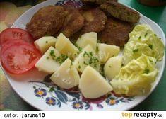 Kapustové karbanátky recept - TopRecepty.cz Potato Salad, Mashed Potatoes, Meat, Chicken, Ethnic Recipes, Food, Beef, Meal, Essen