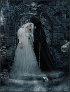 Deaths Bride by k0rvis.deviantart.com on @deviantART