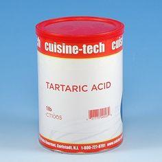 TARTARIC ACID Cream of tartar