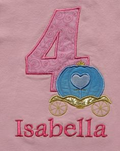 Princess Carriage Number custom shirts