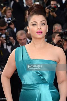 Actress Aishwarya Rai attends the Premiere of 'Cleopatra' during the 66th Annual Cannes Film Festival at the Palais des Festivals on May 21, 2013 in Cannes, France.