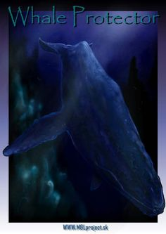 Whale protector Whale, Digital Art, Artist, Movie Posters, Whales, Artists, Film Poster, Billboard, Film Posters