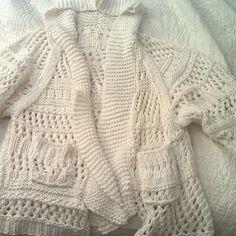 8. Favorite summer wear: my own Vogue Hooded Beach Jacket