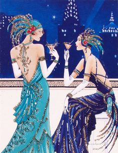 Art Deco Lady - 3. Обсуждение на LiveInternet - Российский Сервис… Women's Jewelry - http://amzn.to/2j8unq8
