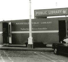 Mansfield/Richland County (Ohio) Public Library, branchmobile, ca. 1980.