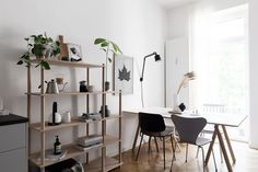 Woud Elevate shelving in our kitchen - Coco Lapine Design blog