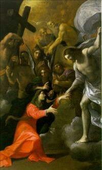 La liberazione delle anime del limbo per intercessione della Madonna. Chiesa del Corpus Domini a Bologna