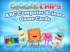 ABC cards include definitions, shapes recognition, robot tangram, a binary…