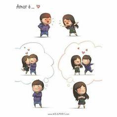 Amar é ...