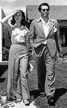 Keep It Relaxed. Laurence Olivier and Vivien Leigh, 1940