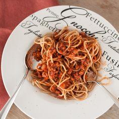 Veggie spaghetti bolognese | Donderdag Veggiedag