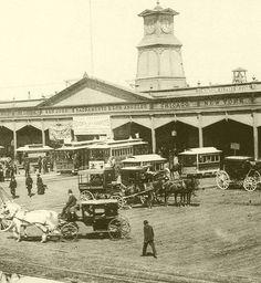 Original San Francisco Ferry Building 1877