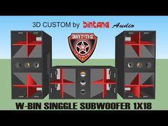 W-BIN118 SINGGLE SUBWOOFER - YouTube Speaker Box Design, Songs, Youtube, Amp, Youtubers, Youtube Movies