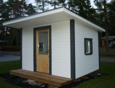 Playhouse. Leikkimökki. Building A Shed, Play Houses, Projects To Try, Garage, Outdoor Structures, Carport Garage, Garages, Car Garage, Garage House