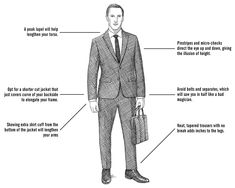 Short Men Suit Tips