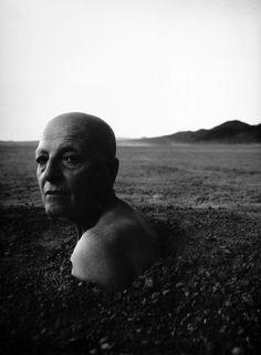 William S. Burroughs by Annie Leibovitz