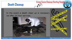 Crime Scene Cleanup Sterling Heights MI | 1-888-522-7793 | Death,Blood,Unattended Death Cleanup