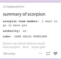 Basically Scorpion Quotes, Scorpion Tv Series, Cbs Tv Shows, Movies And Tv Shows, Jadyn Wong, Scuba Certification, Tv Show Casting, Ohana Means Family, Great Tv Shows