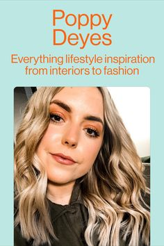 Looking for some new recipes, interiors inspo or some beautiful wallpapers? Follow Poppy she's got you covered.