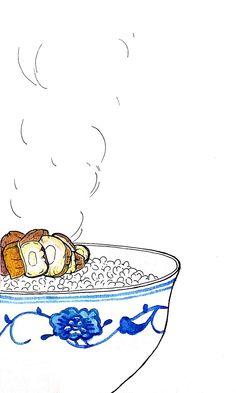 食堂晨话——酱瓜配泡饭