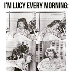 I'm Lucy every morning Struggling with chronic pain in the morning isn't funny, but these memes are. The Comedian, Lucille Ball, Hollywood Walk Of Fame, I Love Lucy Show, My Love, Queens Of Comedy, Ball Hairstyles, Desi Arnaz, Celebrity Babies