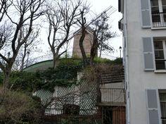 Переулочки Монмартра (Франция, Париж)