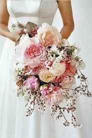 Resultado de imagen para ramos de novia color durazno