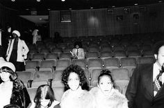 Michael Jackson sits alone in a movie theater in New York City in the 1970s.  My mom found this for me follow her at detra @dalon