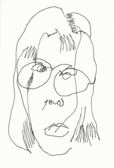 The Mobile Drawing Center: Blind Contour Drawings