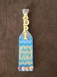 So proud of myself I had to pin   #adpi #sorority #paddles #mermaid #pearl