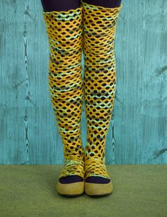 TOP 10 Free Crochet and Knit Patterns for Knee Socks That will Keep You Warm This Winter
