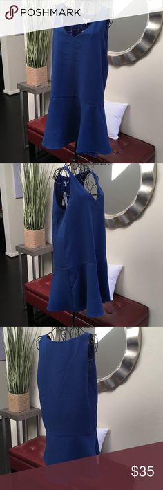 BB Dakota Blue Drop Waist Dress w/ Pockets BB Dakota Blue Drop Waist Dress w/ Pockets BB Dakota Dresses