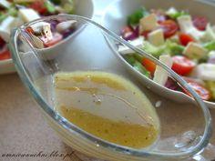 Sos vinegret miodowo musztardowy Salad Dressing, Grilling, Good Food, Food And Drink, Pudding, Lunch, Cooking, Desserts, Salt N Pepa