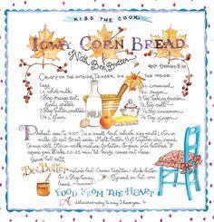 Iowa Cornbread & Bee Butter Susan Branch