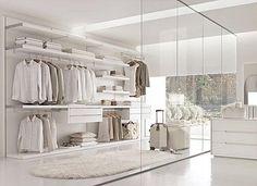 Ideas para distribuir un vestidor
