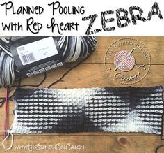 How to crochet beautiful designs in variegated yarn with planned pooling.