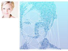 Delaunay portrait via Image Sampler