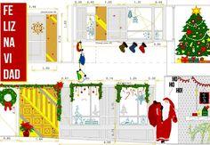 elena iglesias - navidad - arquitectura - planos de 4 viviendas + local comercial en San Sebastián de los Reyes - Paintbox !