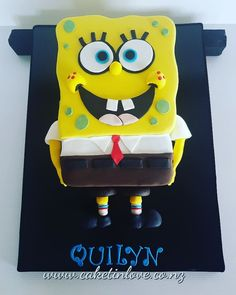 So much fun to make Spongebob, Tweety, Cakes, Chocolate, Creative, How To Make, Fun, Character, Cake Makers