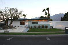 mid century - Great front yard and color scheme.