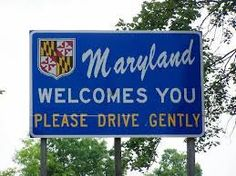 welcome to maryland state sign - Everyone from Maryland knows why this is funny.
