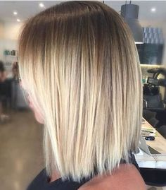 balayage straight hair - great colour