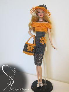 "Ravelry: Barbie ""Giselle"" dress pattern by Simona Pusinanti"