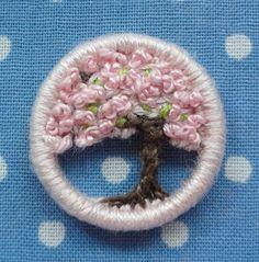 お花見1, dorset buttons, exquisite!