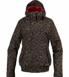 Amazon.com: Burton Women's Tabloid Jacket True Black Liberty Dot Print Large: Clothing
