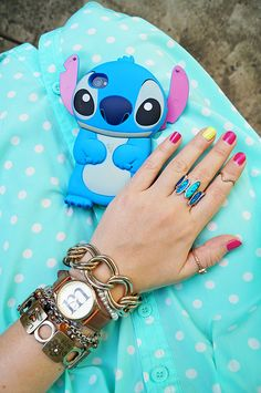 Disney Stitch iPhone cover -- So cute! I WANT!!!!!!!!!!!!!!!!!!!!!!!!!!!!!